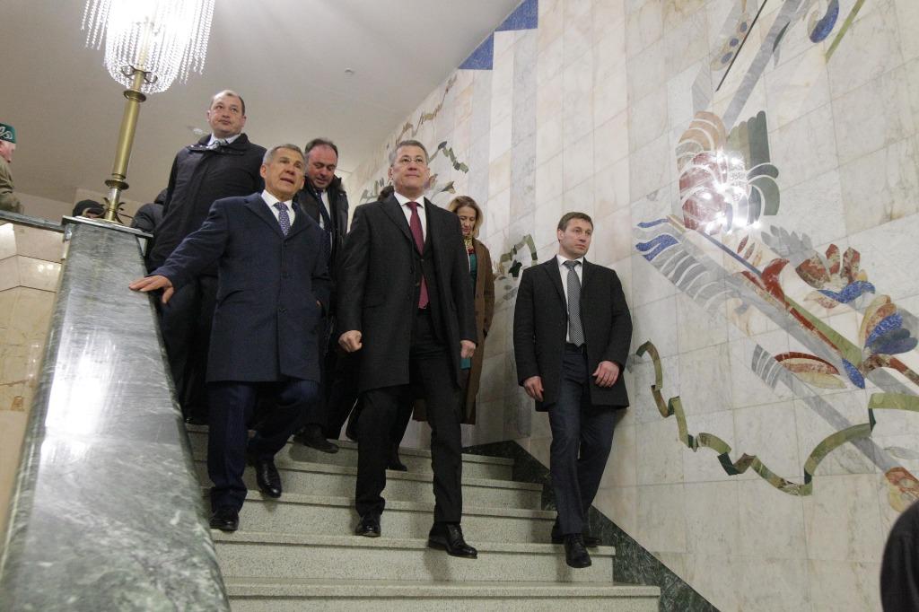 Рустам Минниханов и Радий Хабиров